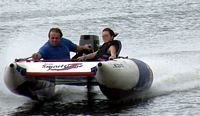 Inflatable Boat Racing